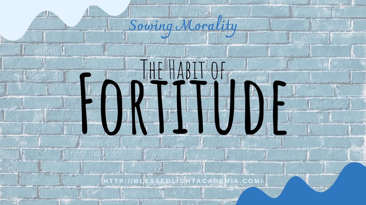 The Habit of Fortitude